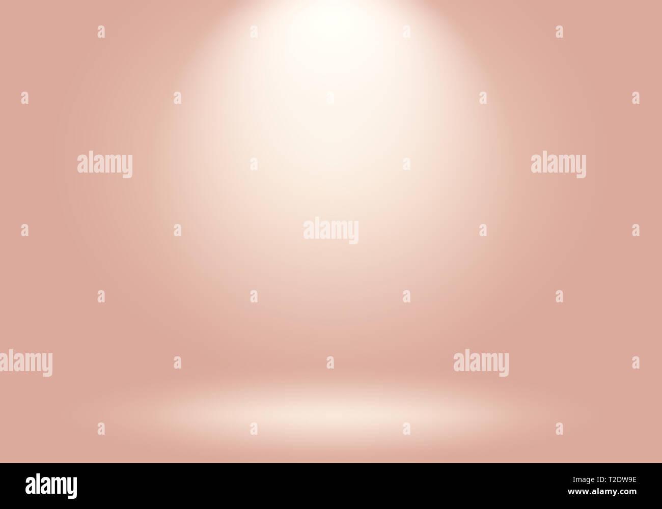 Abstract Di Sfocatura Bellissimo Pastello Rosa Pesca Color Sky Tono