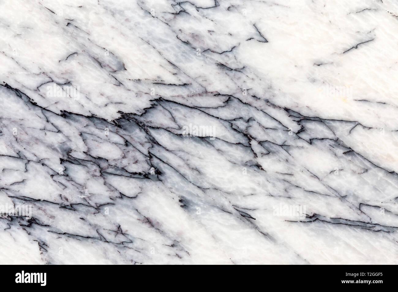 Bianco E Nero Reale Modellato Naturale Grigio Scuro Pietra Di Marmo