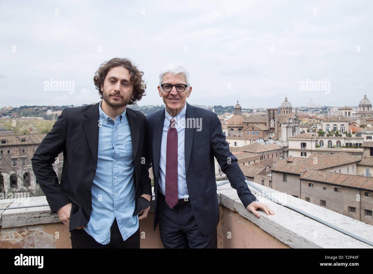 Massimo Bray E Jacopo Brogioni Sindaco Di Roma Virginia