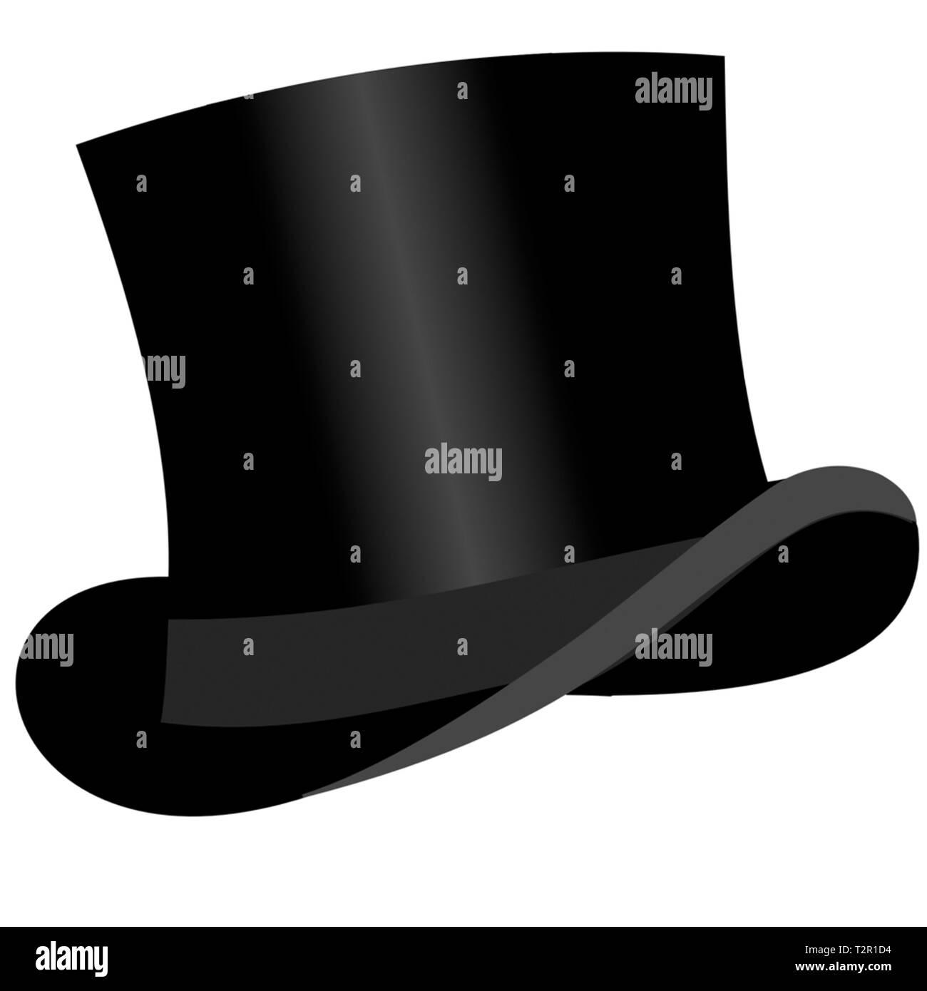cappello a cilindro Immagini Stock