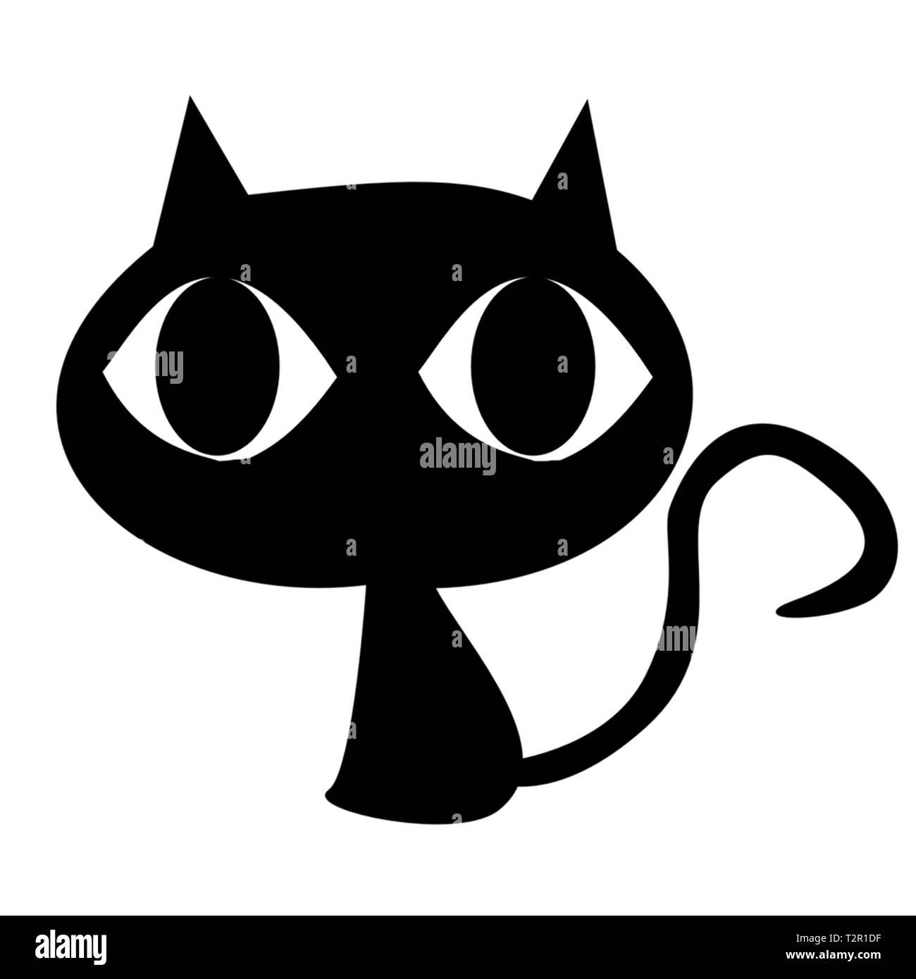 Carino kitty Immagini Stock