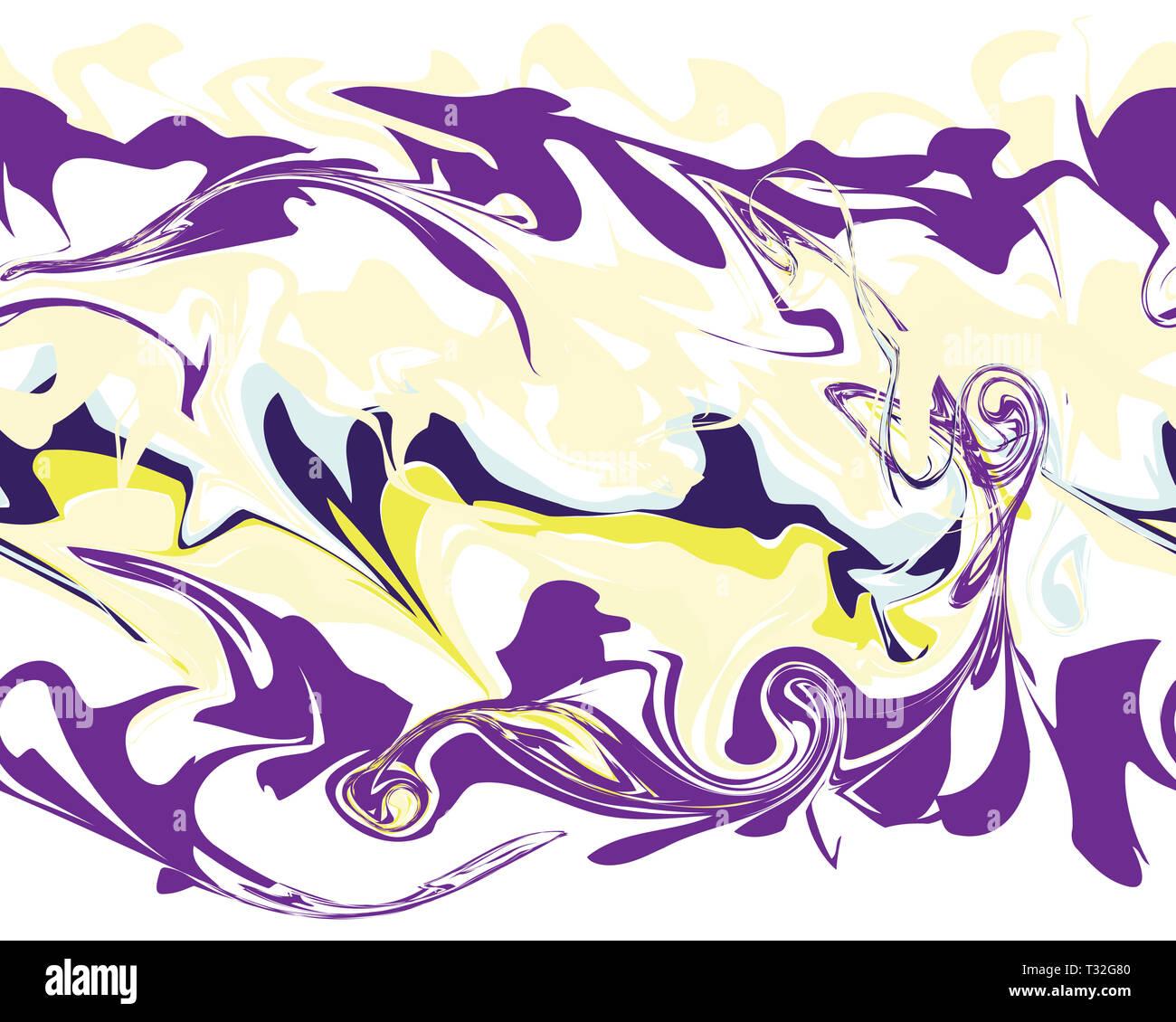 Carta Da Parati Modelli.Mardi Gras Linea Seamless Pattern In Marmo Illustrazione Ideale