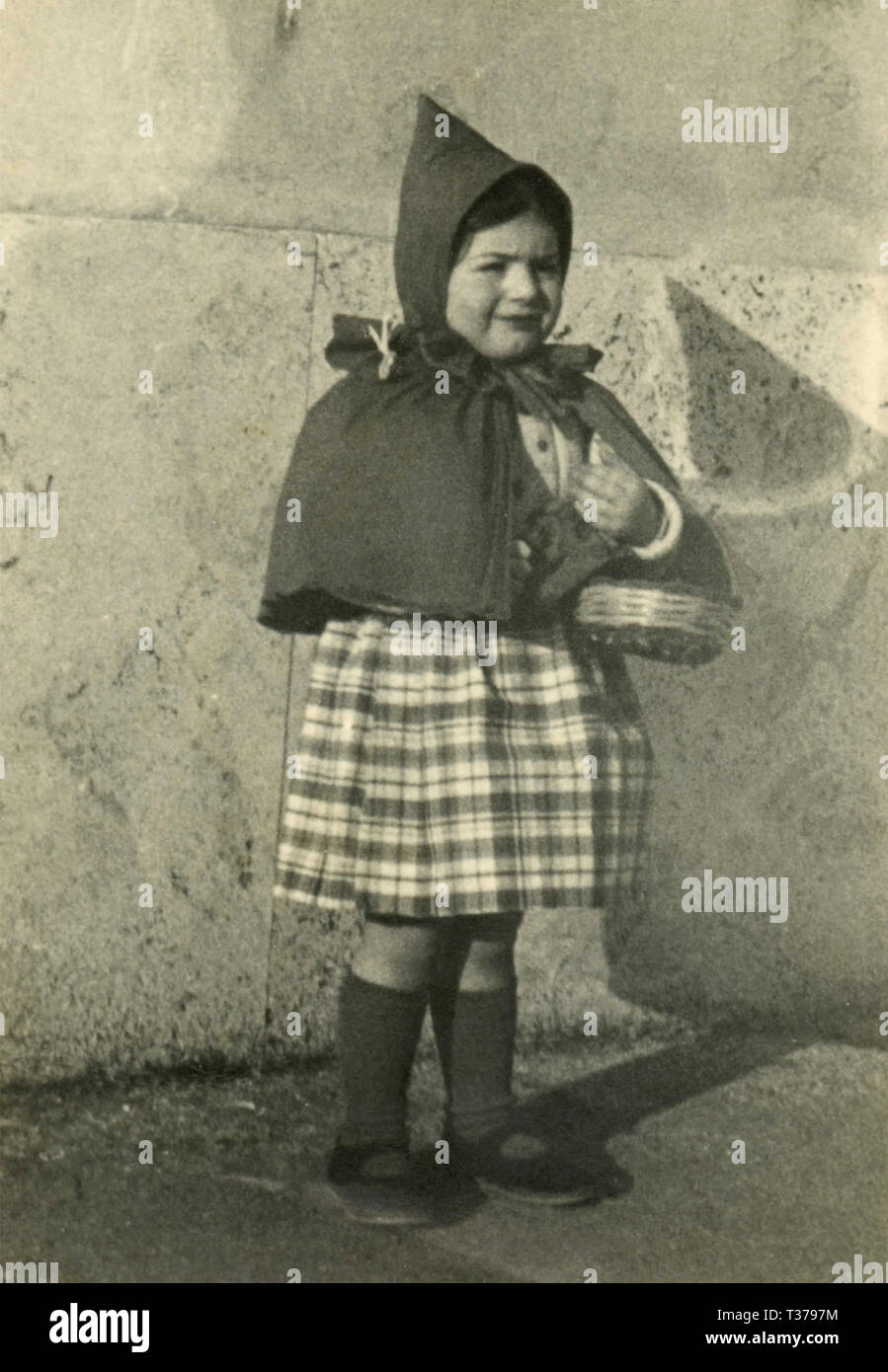 Little Red Riding Hood, 1940 Immagini Stock
