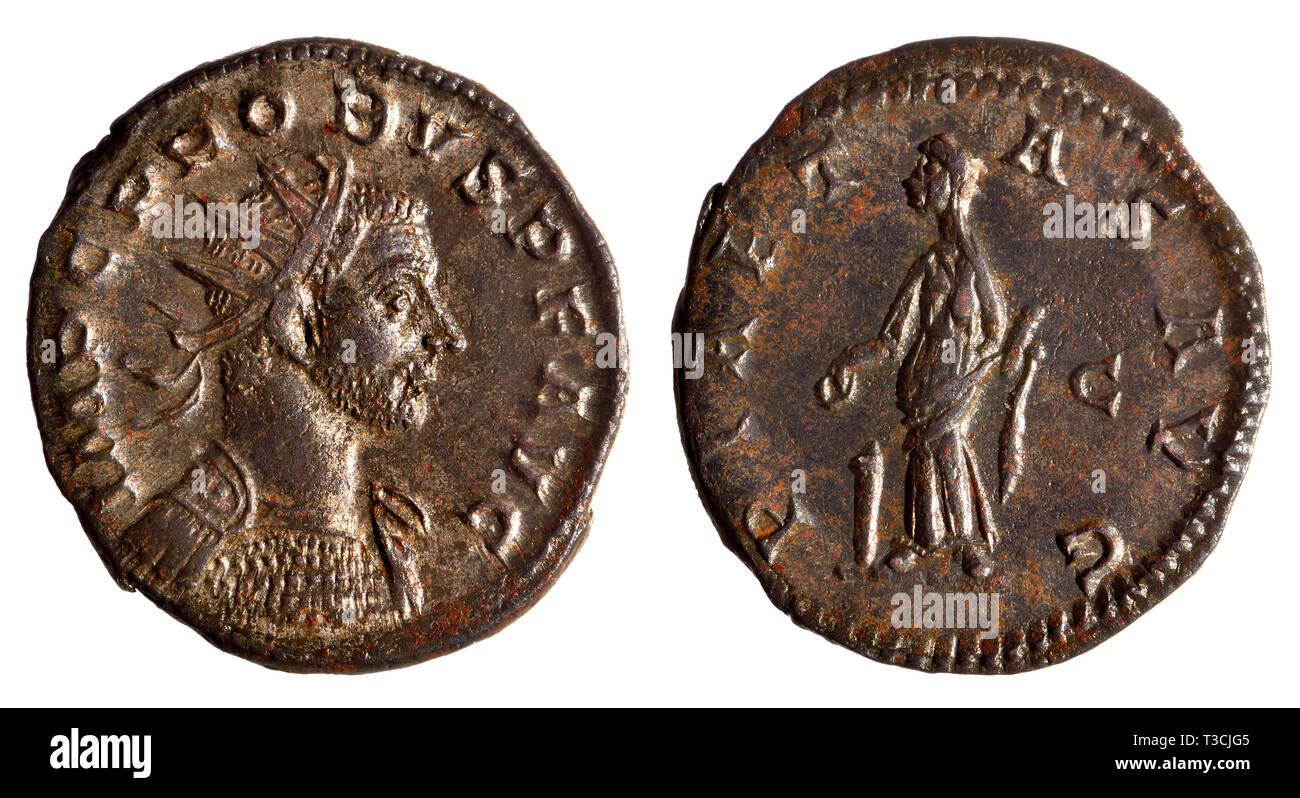 18497589b6 Moneta romana: Antonianus dal regno (AD276 - 282) di Probus (Marco Aurelio