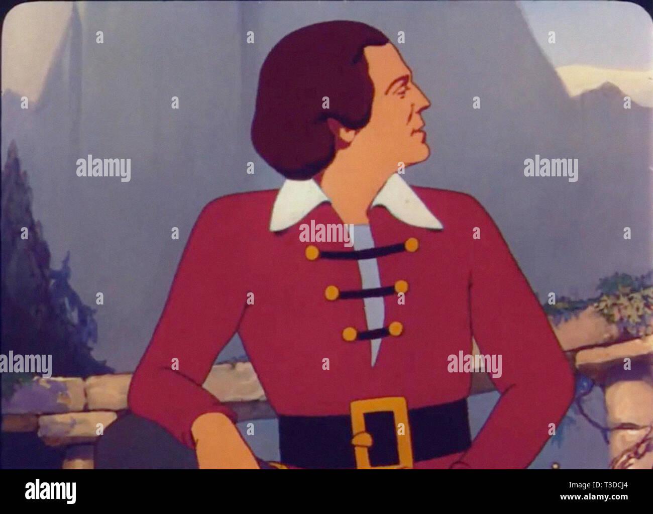 I viaggi di gulliver è un 1939 american cel animati technicolor