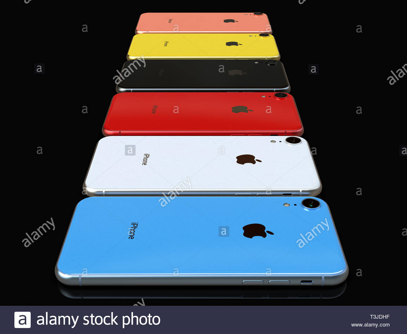 Bucarest Romania Aprile 8 2019 Apple Iphone Xr Smart Phone