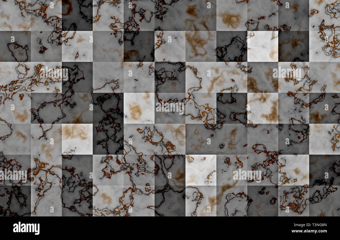 Testurizzato In Marmo Con Gradiente Quadrato Geometrico Blocchi