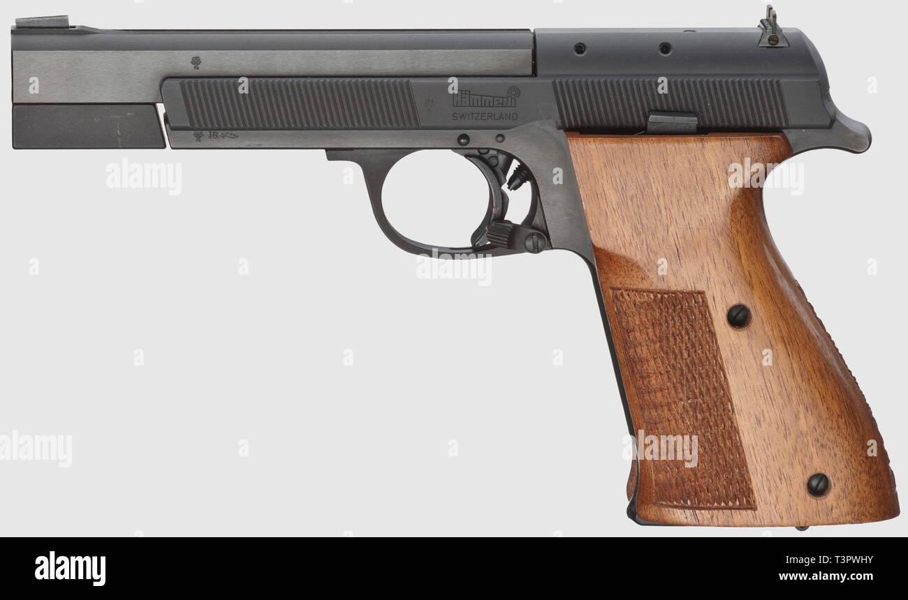 Tiro Sport, pistole, Svizzera, Hämmerli 212, calibro .22, Editorial-Use-solo Immagini Stock