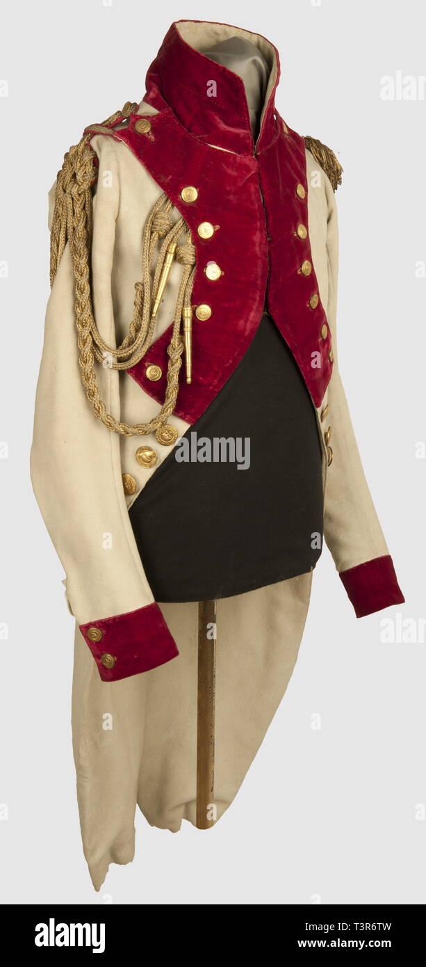 DIRECTOIRE-CONSULAT-EMPIRE 1795-1814, uniforme d'Officier