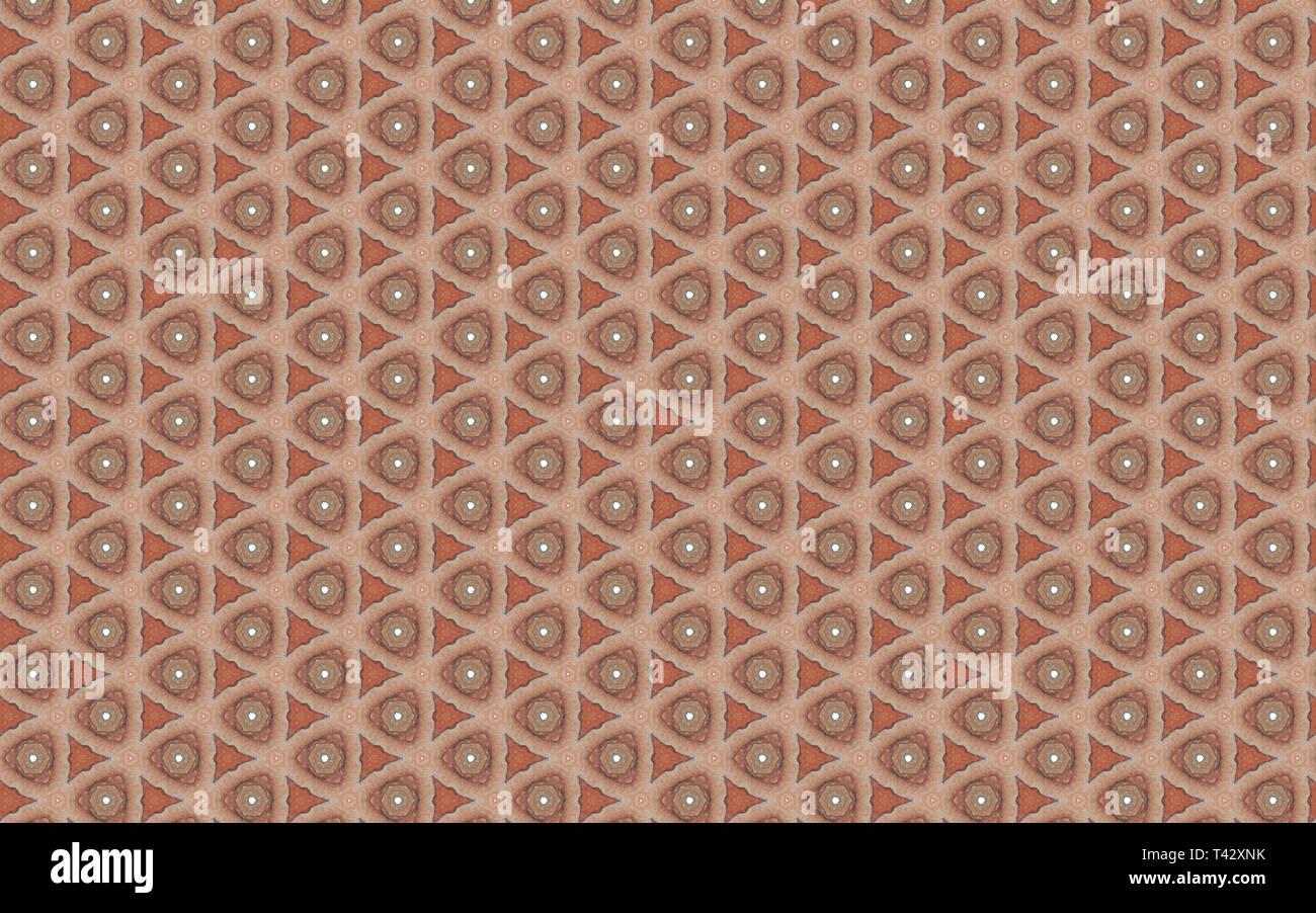 Forme geometriche sullo sfondo Immagini Stock