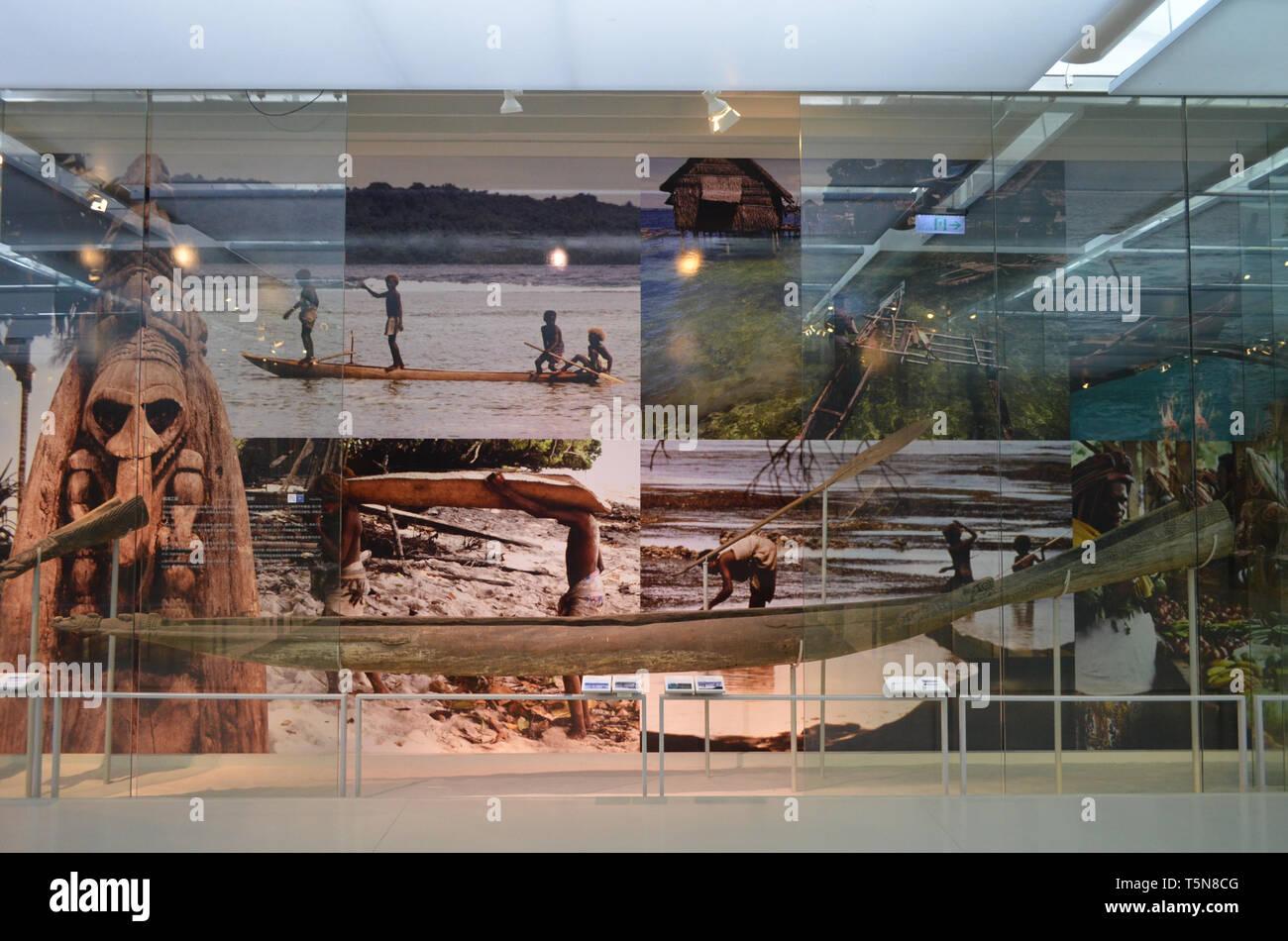 Mostra presso il Museo Nazionale di Scienze Naturali, Taichung (Taiwan) Immagini Stock