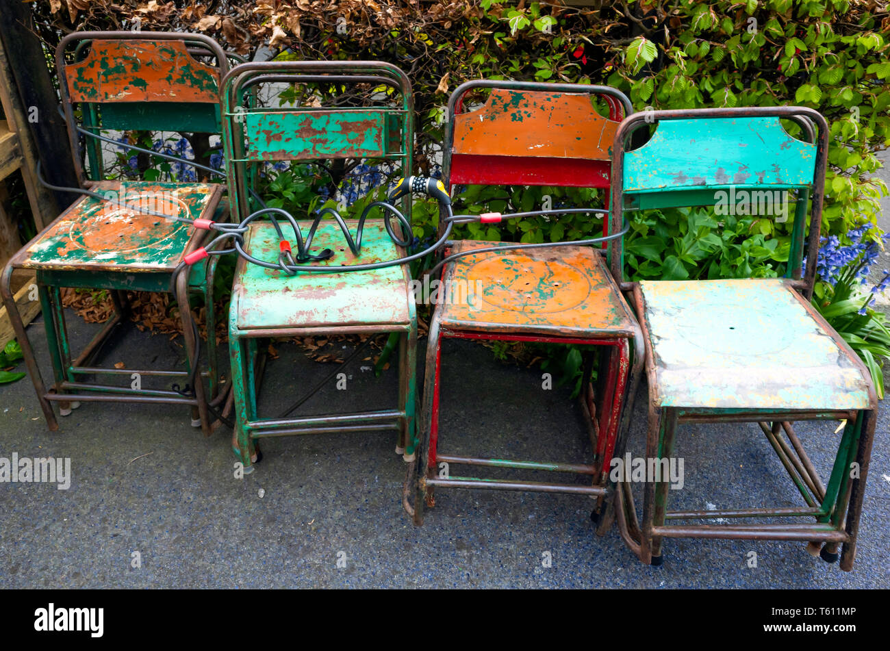 Stock Sedie Impilabili.Stackable Chairs Immagini Stackable Chairs Fotos Stock Alamy