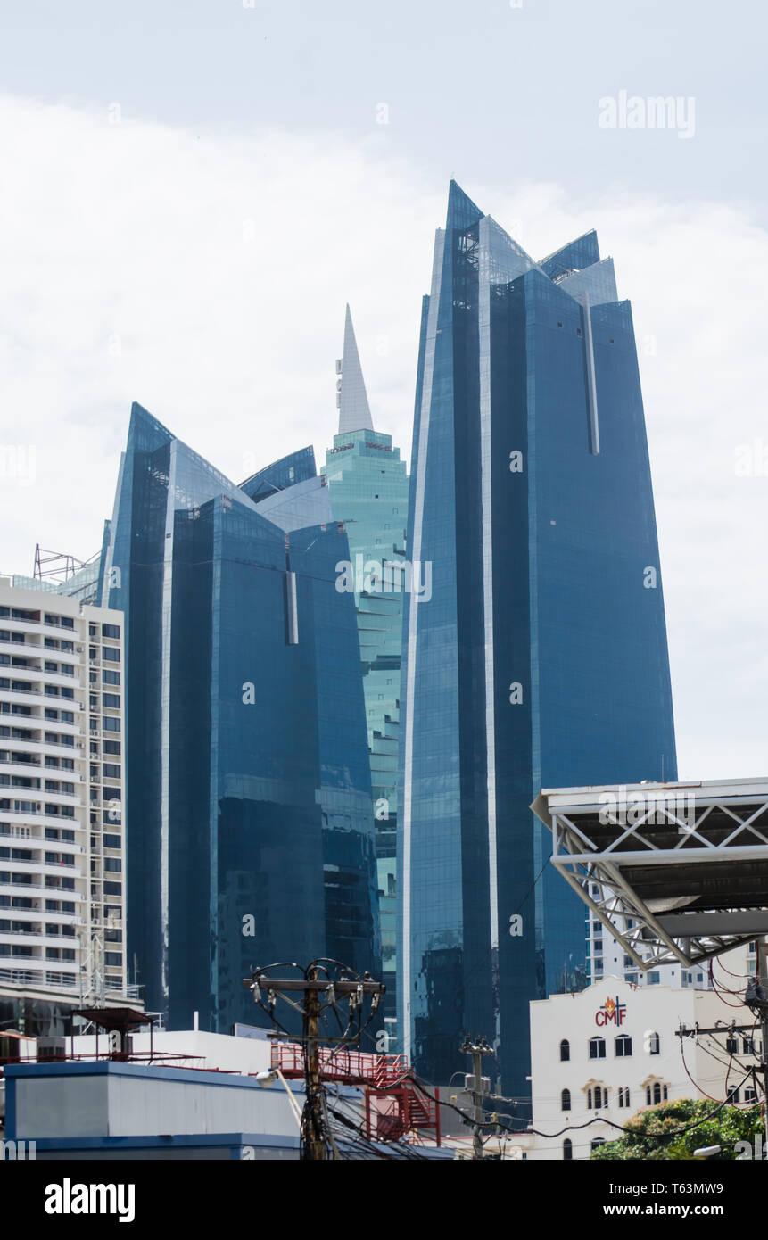 Panama City skyline 2019 Immagini Stock
