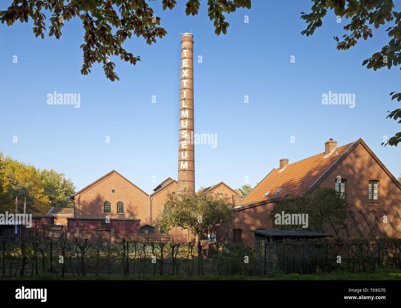 Bocholt museo tessile, all'aperto, in Germania, in Renania settentrionale-Vestfalia, Muensterland, Bocholt Immagini Stock
