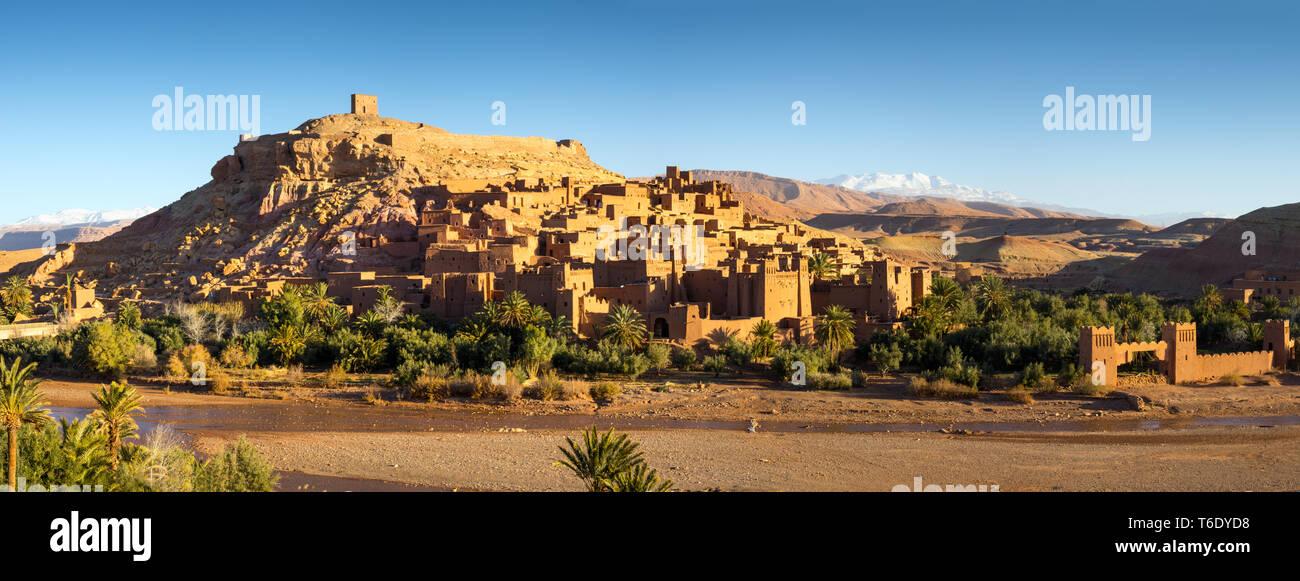 Kasbah Ait Ben Haddou in Marocco Foto Stock