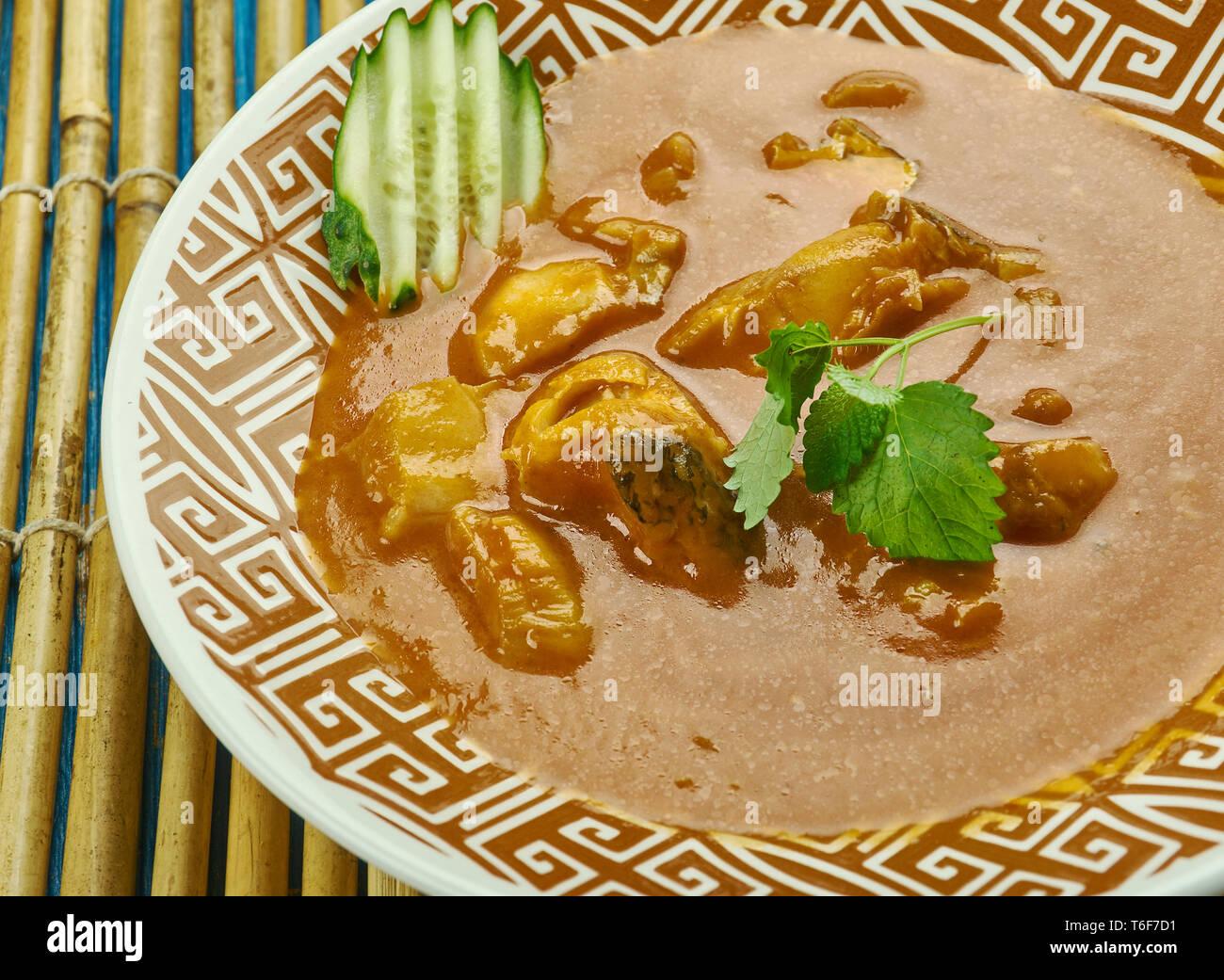 Alleppey pesce al curry Immagini Stock