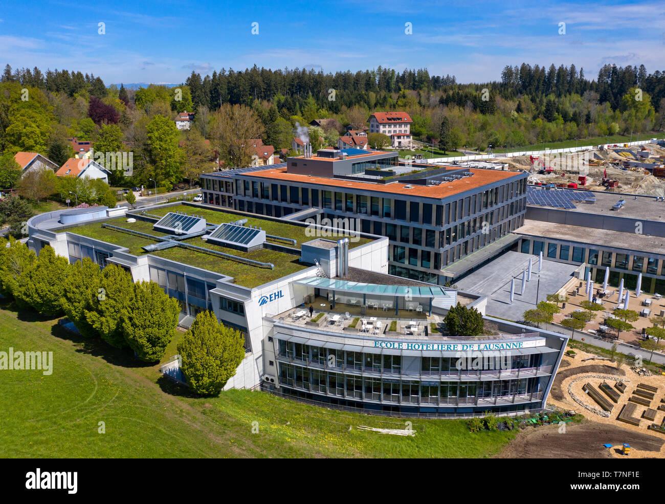 Hospitality Management School École hôtelière de Lausanne (EH1), Losanna, Svizzera Immagini Stock