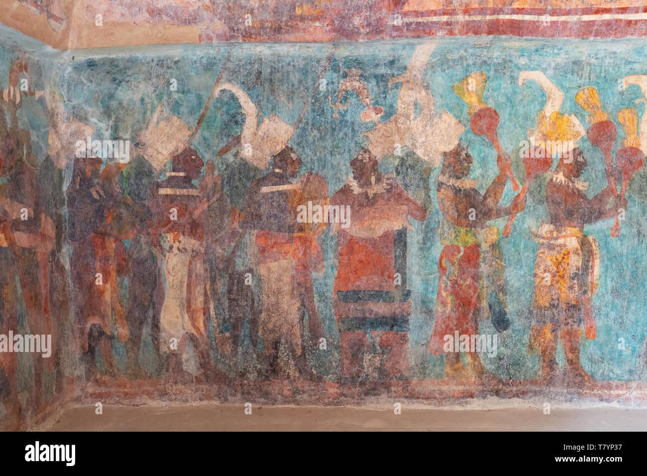 Mayan Painting Immagini E Fotos Stock Alamy
