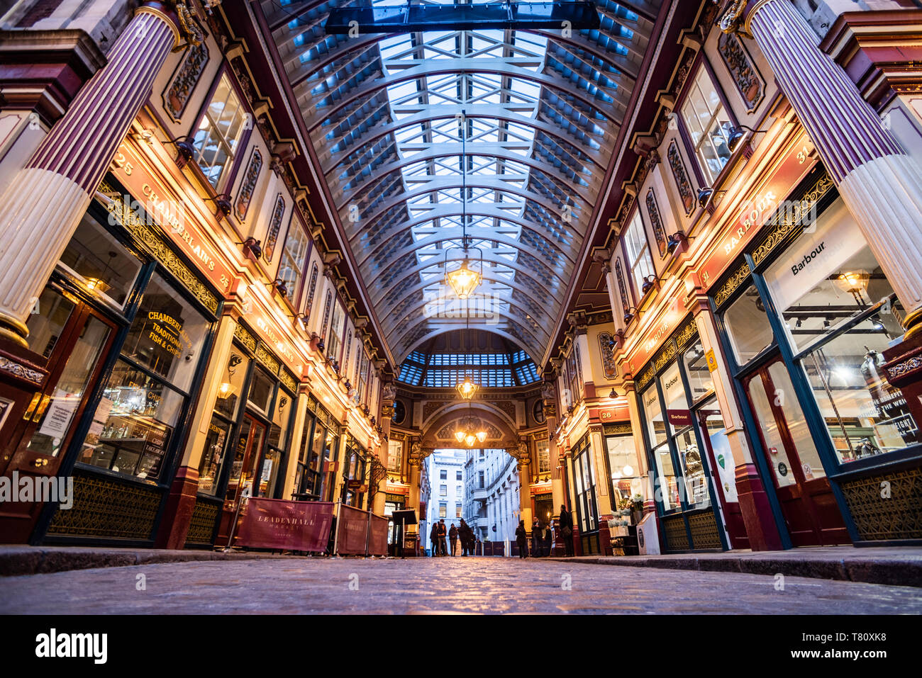 Mercato Leadenhall, City of London, Londra, Inghilterra, Regno Unito, Europa Foto Stock