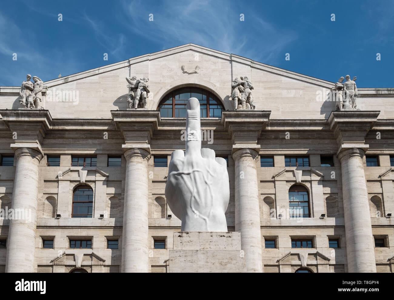 prezzo ridotto risparmia fino all'80% economico per lo sconto Esterno della Borsa di Milano, Borsa Italiana edificio, Palazzo ...