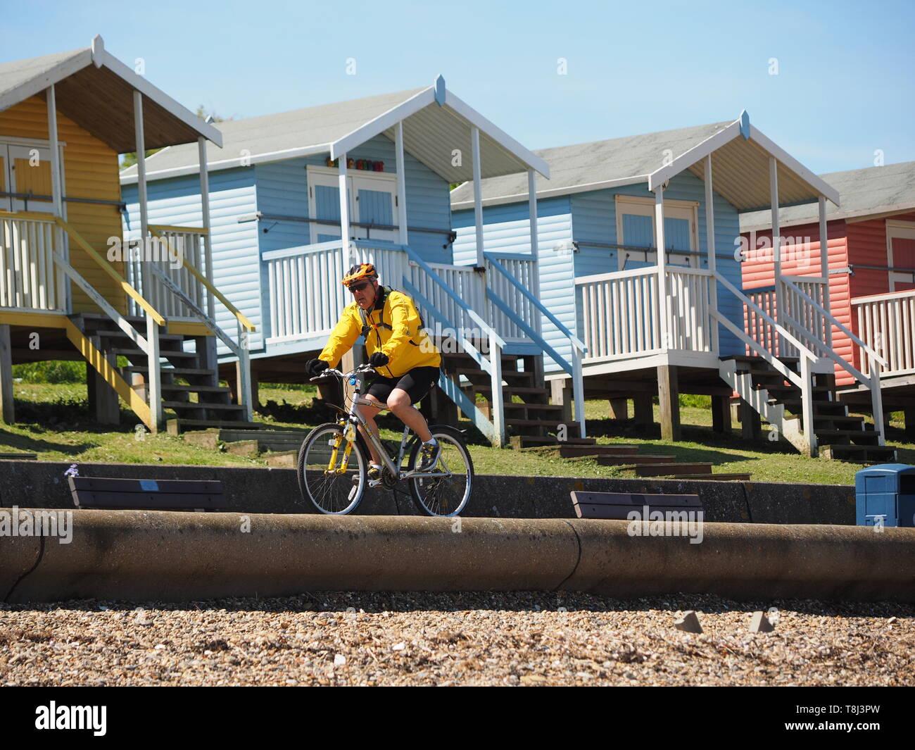 Cattedrale sul mare, Kent, Regno Unito. 14 Maggio, 2019. Regno Unito Meteo: una giornata di sole in Cattedrale sul mare, Kent. Credito: James Bell/Alamy Live News Foto Stock