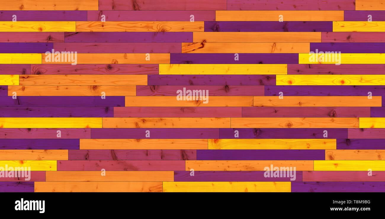 Seamless legno parquet texture colorate lineare Immagini Stock