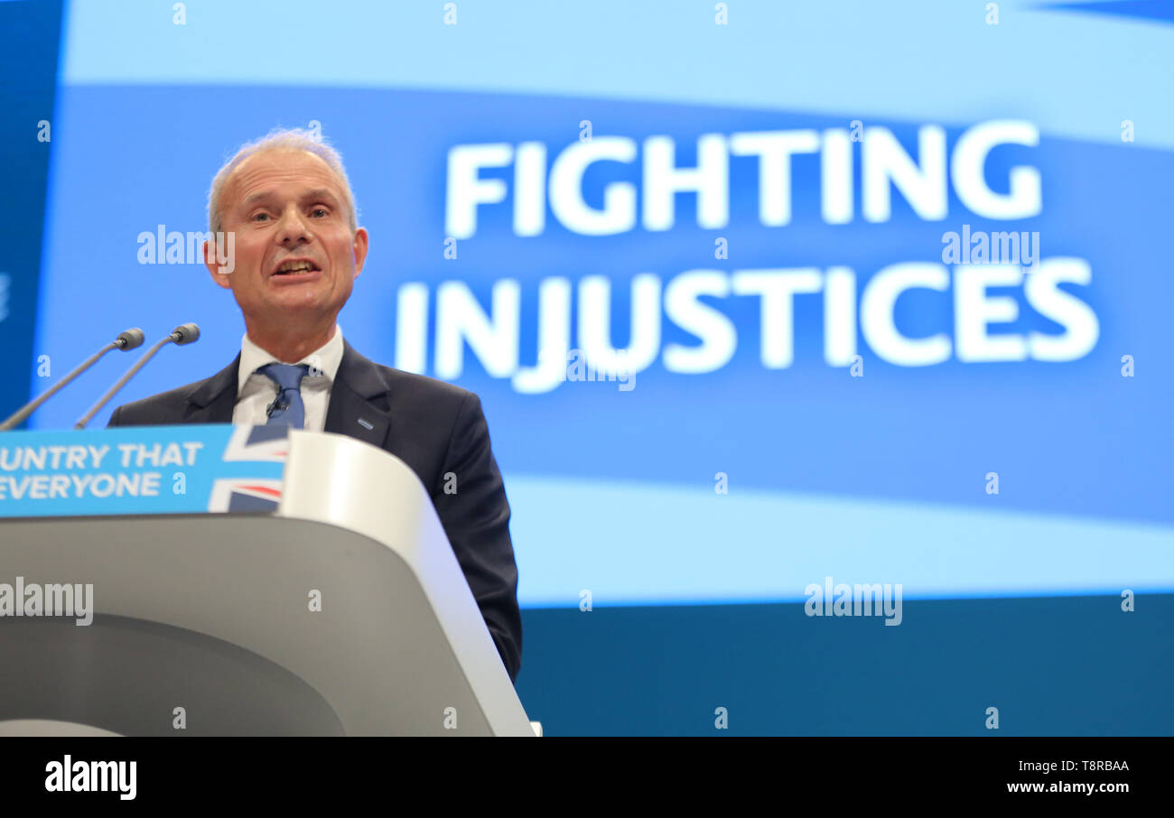 DAVID LIDINGTON MP, 2017 Immagini Stock