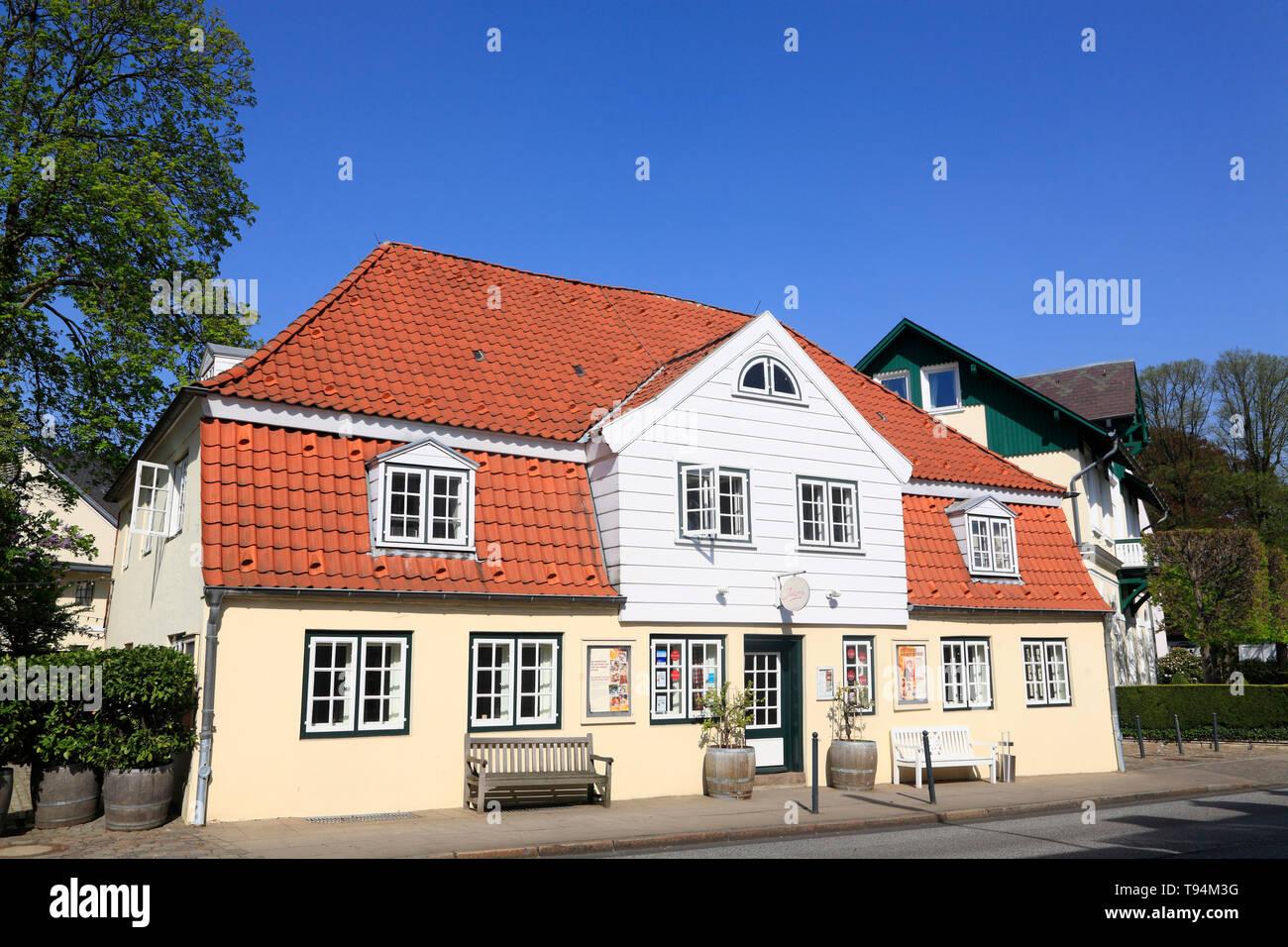 Il Winebar Louis C. Jacob, Hamburg-Nienstedten, Hansestadt Hamburg, Germania, Europa Foto Stock