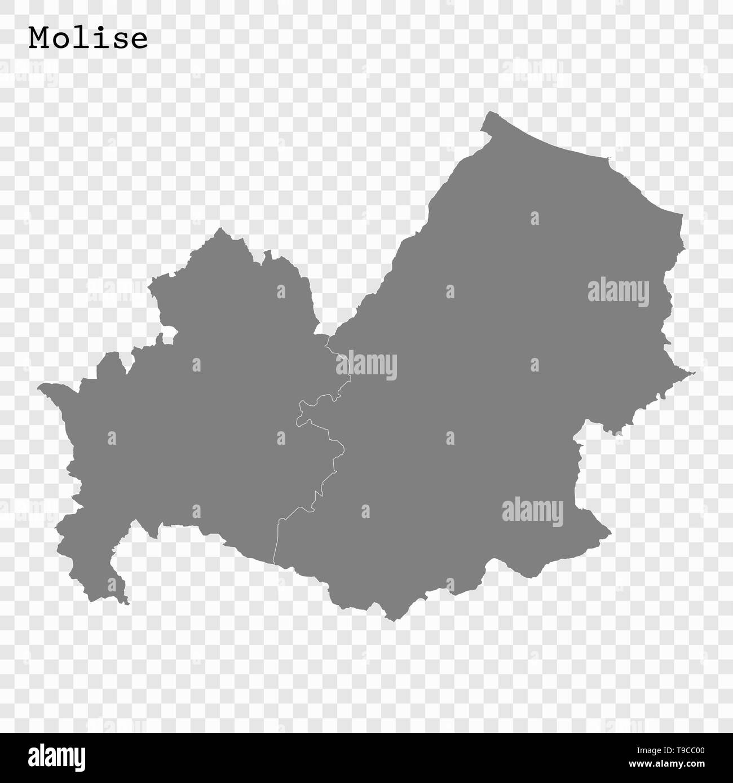 Cartina Del Molise Geografica.Alta Qualita Mappa Del Molise E Uno Stato D Italia Con I Confini Dei Distretti Immagine E Vettoriale Alamy
