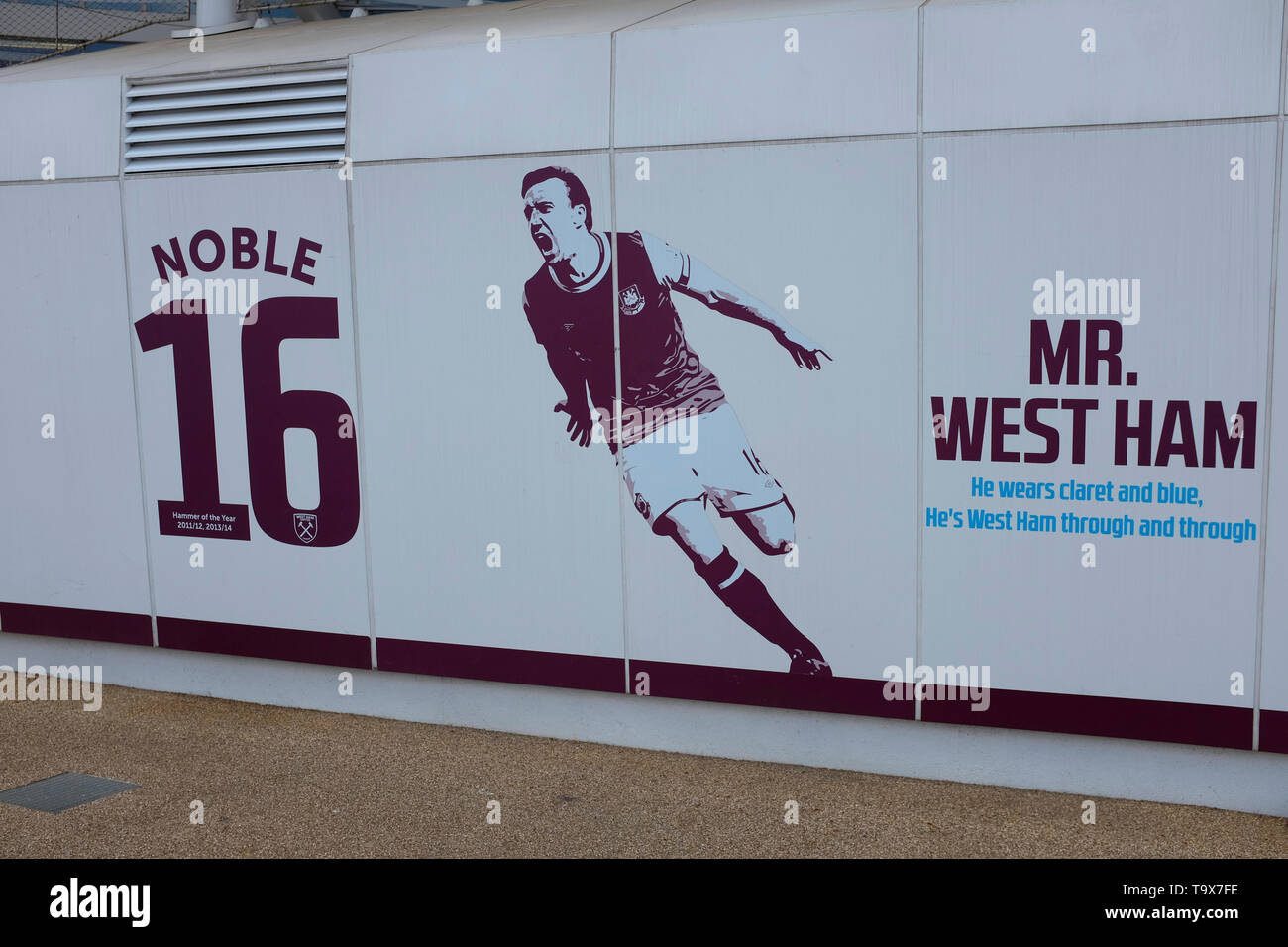 Il London Stadium, casa del West Ham United e il Regno Unito l'atletica. Immagini Stock
