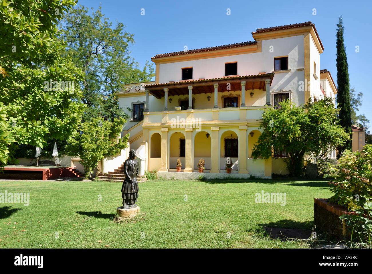 Museo de Historia y Cultura, Casa Museu Guayasamin. Caceres, Spagna Immagini Stock