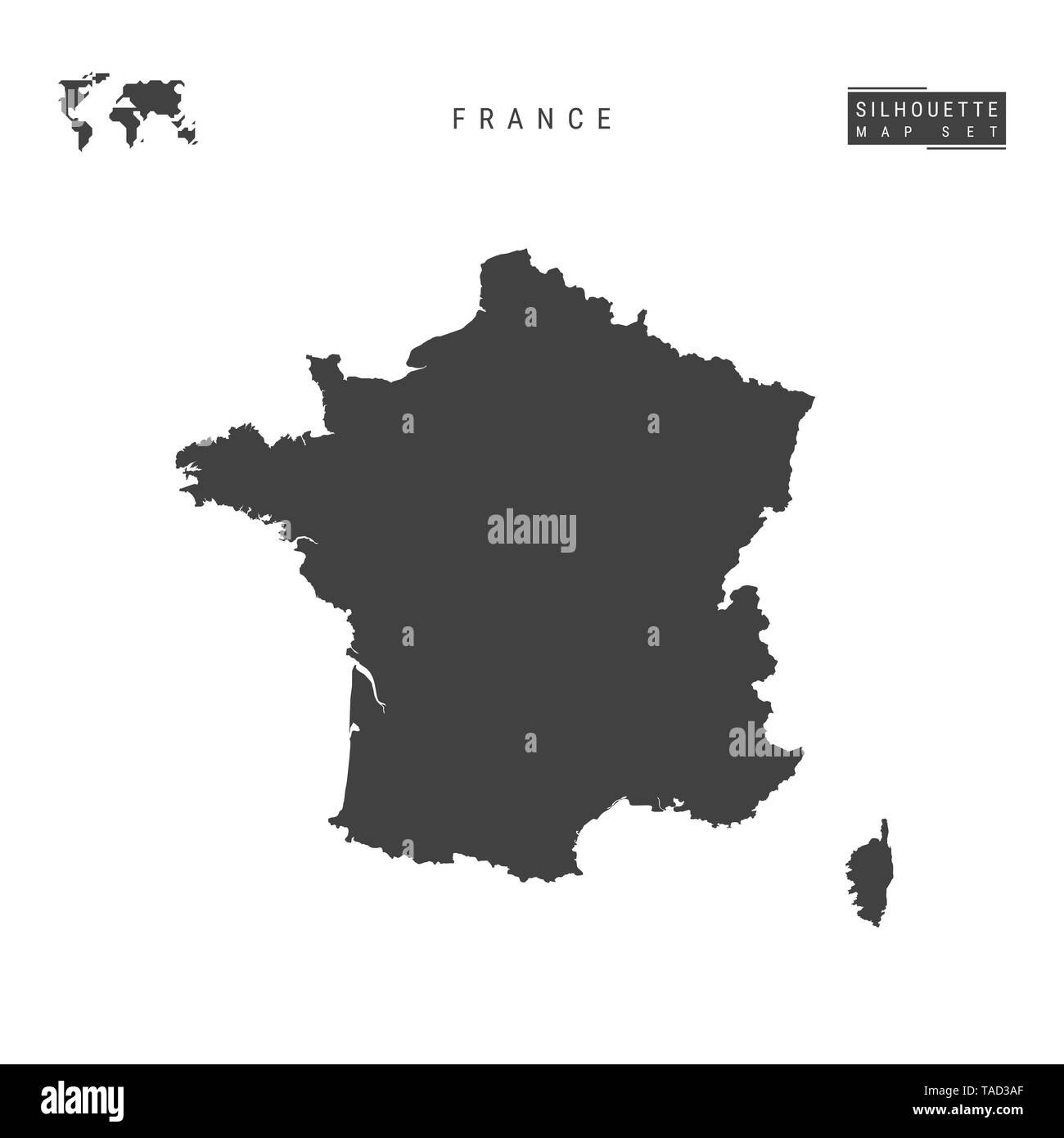 Cartina Francia Vuota.France Map Black White Immagini France Map Black White