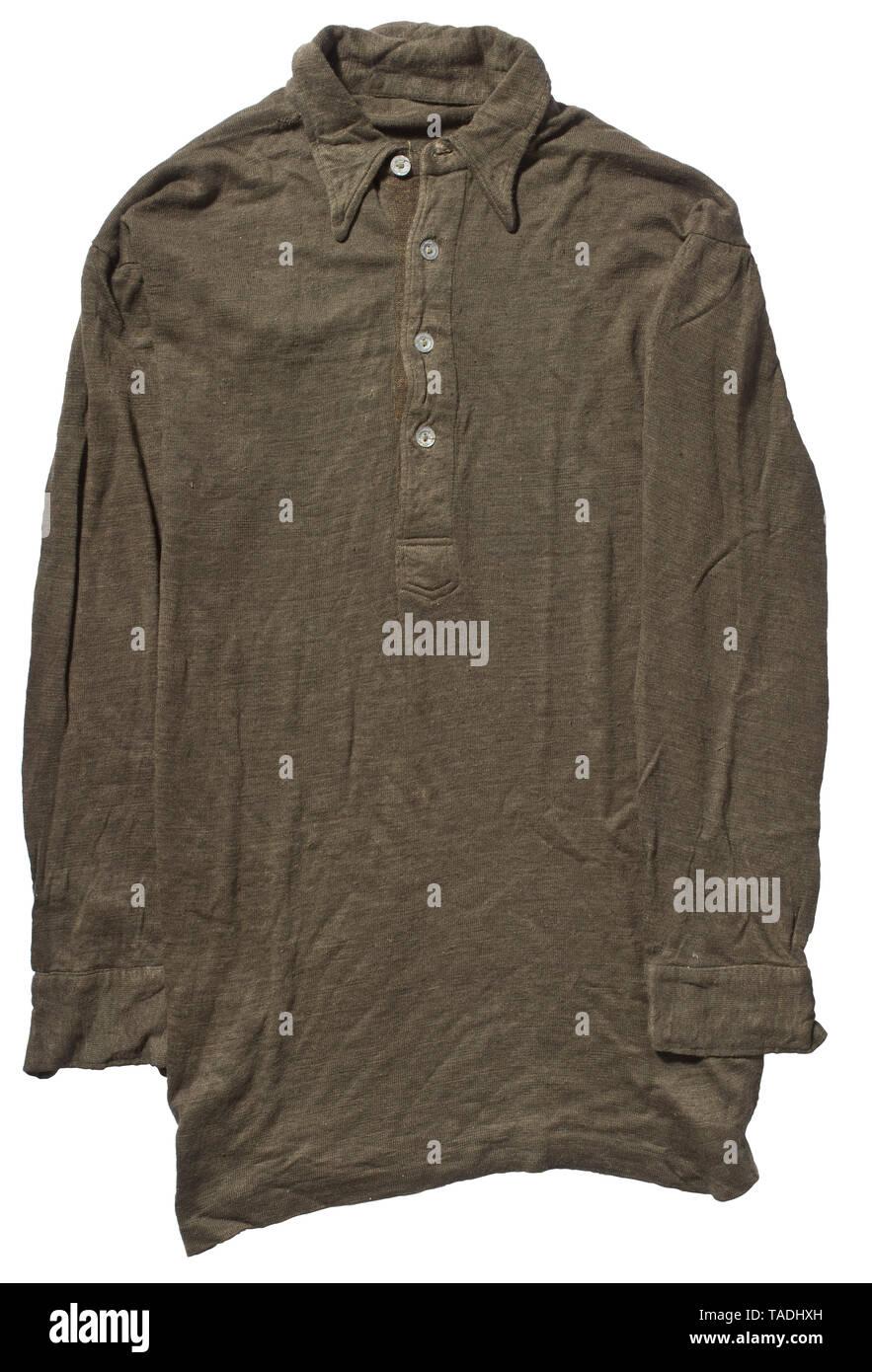 Una maglietta troppo tardi storica, storica del xx secolo, Editorial-Use-solo Immagini Stock