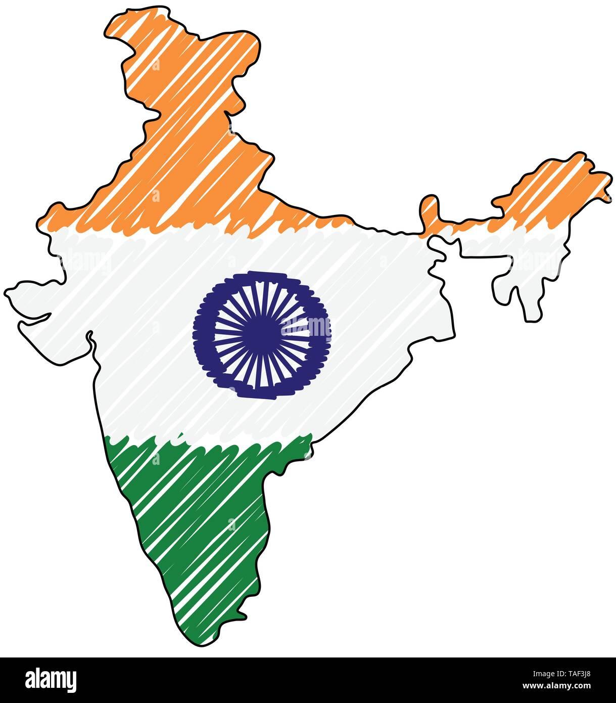 Cartina India Del Nord.Mappa India Immagini E Fotos Stock Alamy