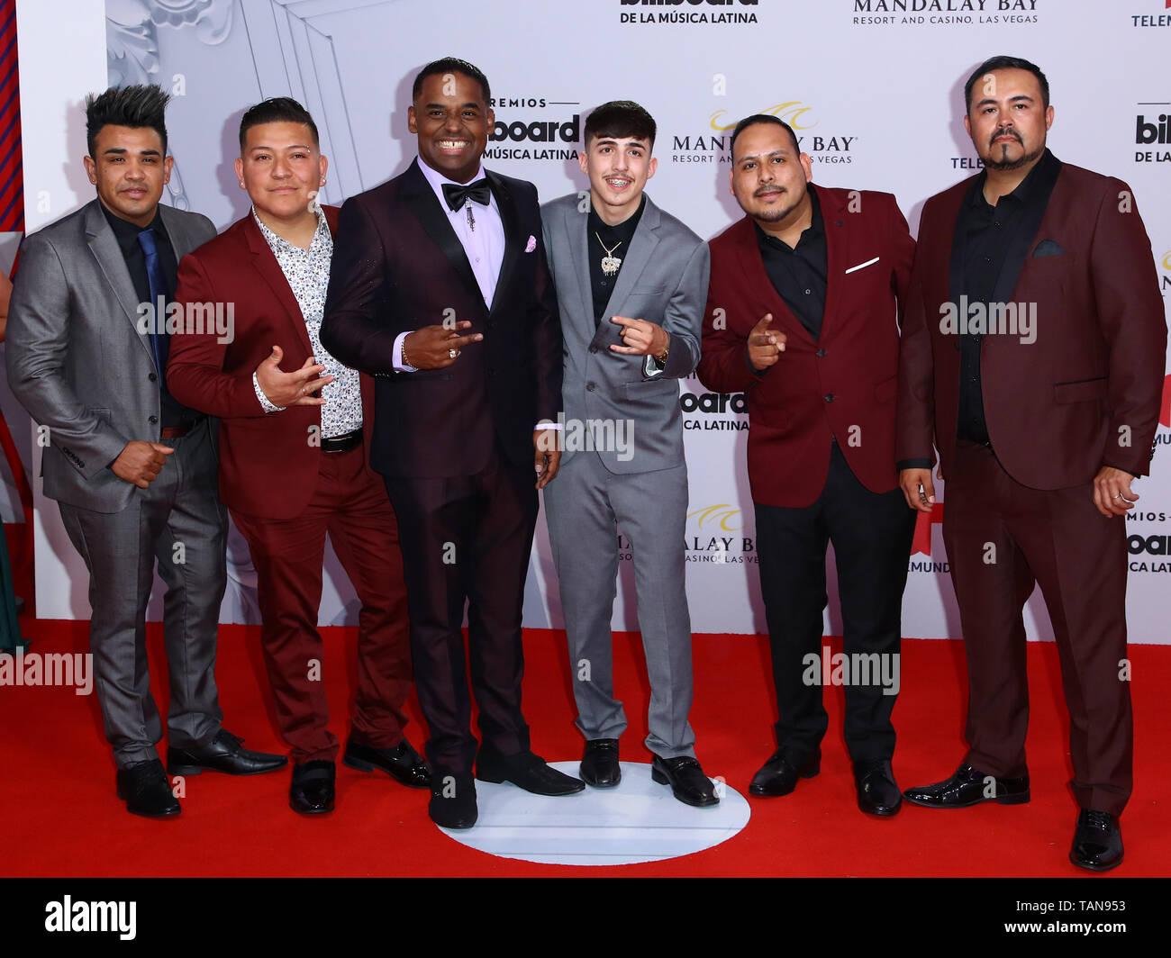 2019 Latin Billboard Awards Red Carpet gli arrivi al Mandalay Bay Event Center Las Vegas offre: T3R Elemento dove: Las Vegas, Nevada, Stati Uniti quando: 25 Apr 2019 Credit: Judy Eddy/WENN.com Immagini Stock
