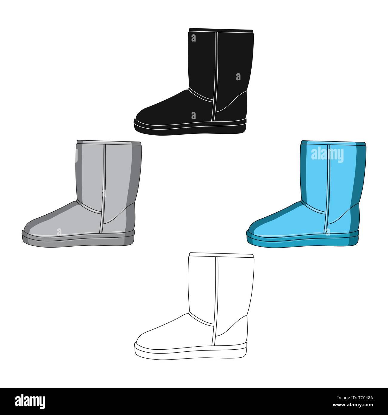 Black Fur Ugg Boots Immagini & Black Fur Ugg Boots Fotos