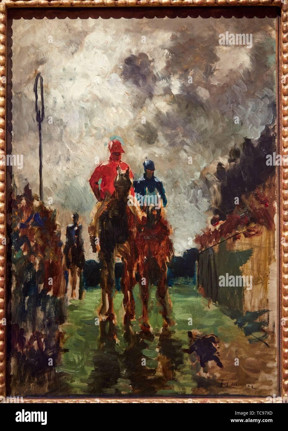 "'''I Fantini"", 1882, Henri de Toulouse-Lautrec, Museo Thyssen Bornemisza, Madrid, Spagna, Europa Foto Stock"