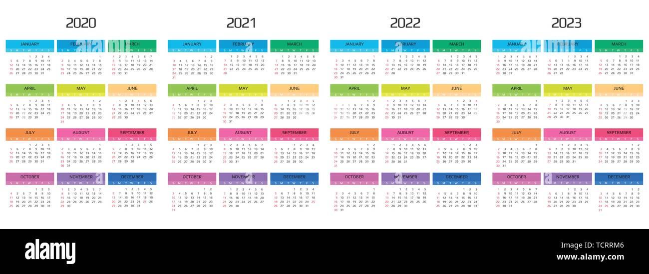 Calendario 2020 Da Stampare Con Festivita.Calendario 2022 Immagini Calendario 2022 Fotos Stock Alamy