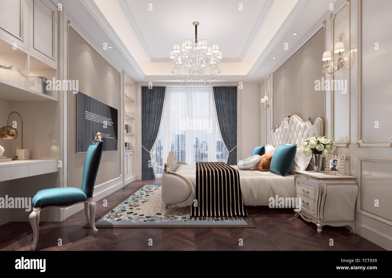Descrizione spazio pingqing soggiorno cucina camera da for Studio in camera da letto