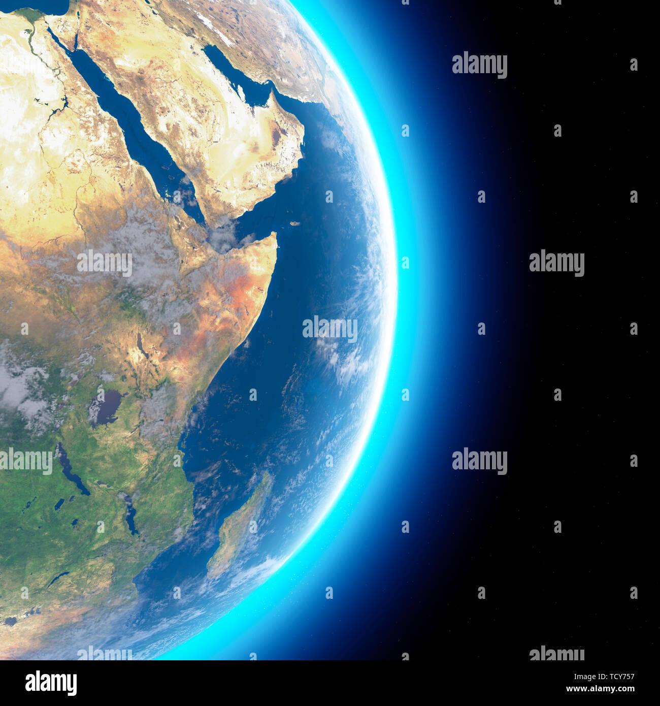 Medio Oriente Cartina Fisica.Cartina Fisica Del Mondo Vista Satellitare Del Medio Oriente Africa Asia Globo Emisfero Rilievi E Oceani Il Rendering 3d Foto Stock Alamy