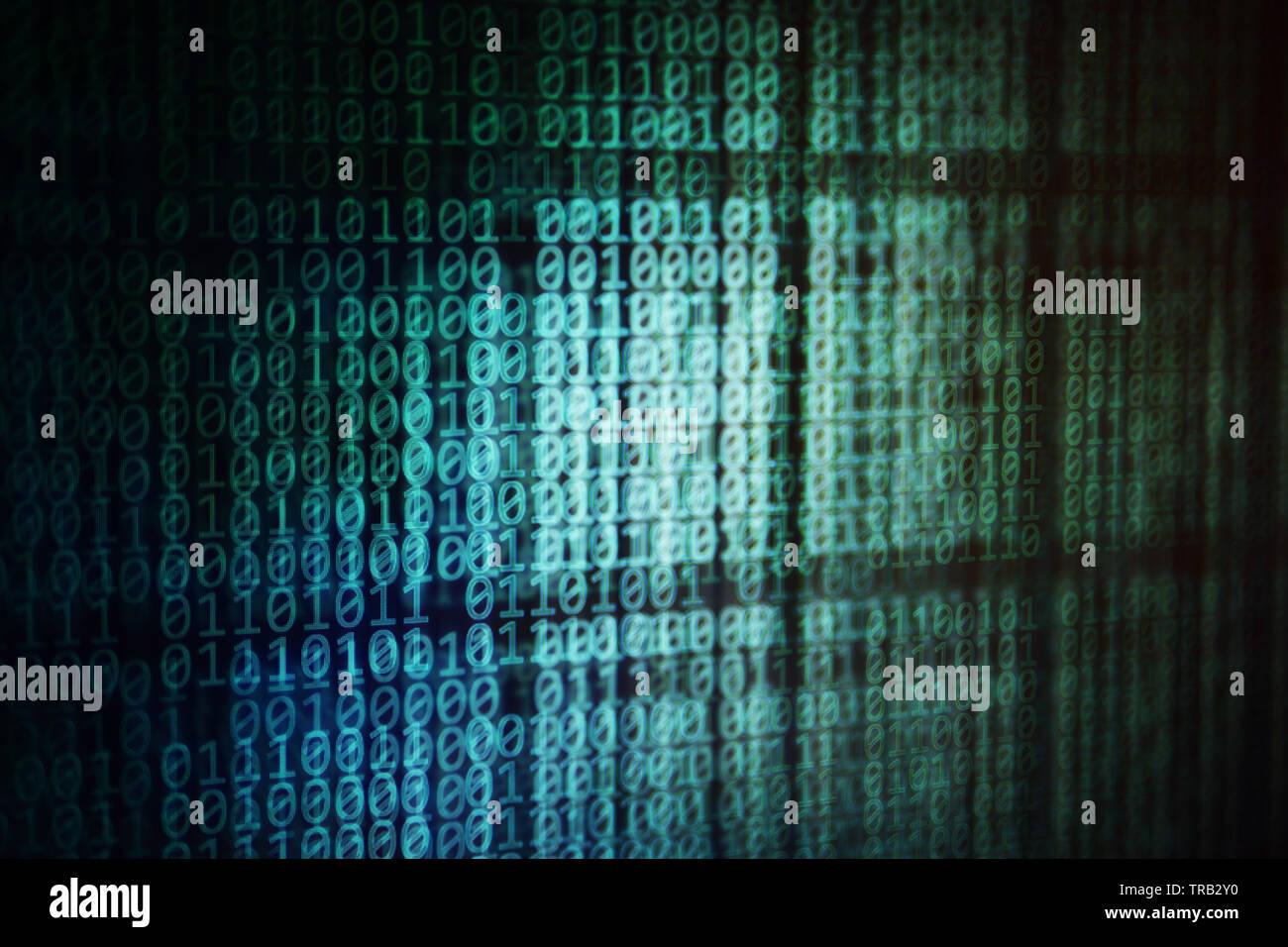 Messaggio nascosto. strati di dati nascondendo dietro altri strati di dati. Cavalli di Troia, spyware, malware e virus concetti. finti e giace in internet me Immagini Stock