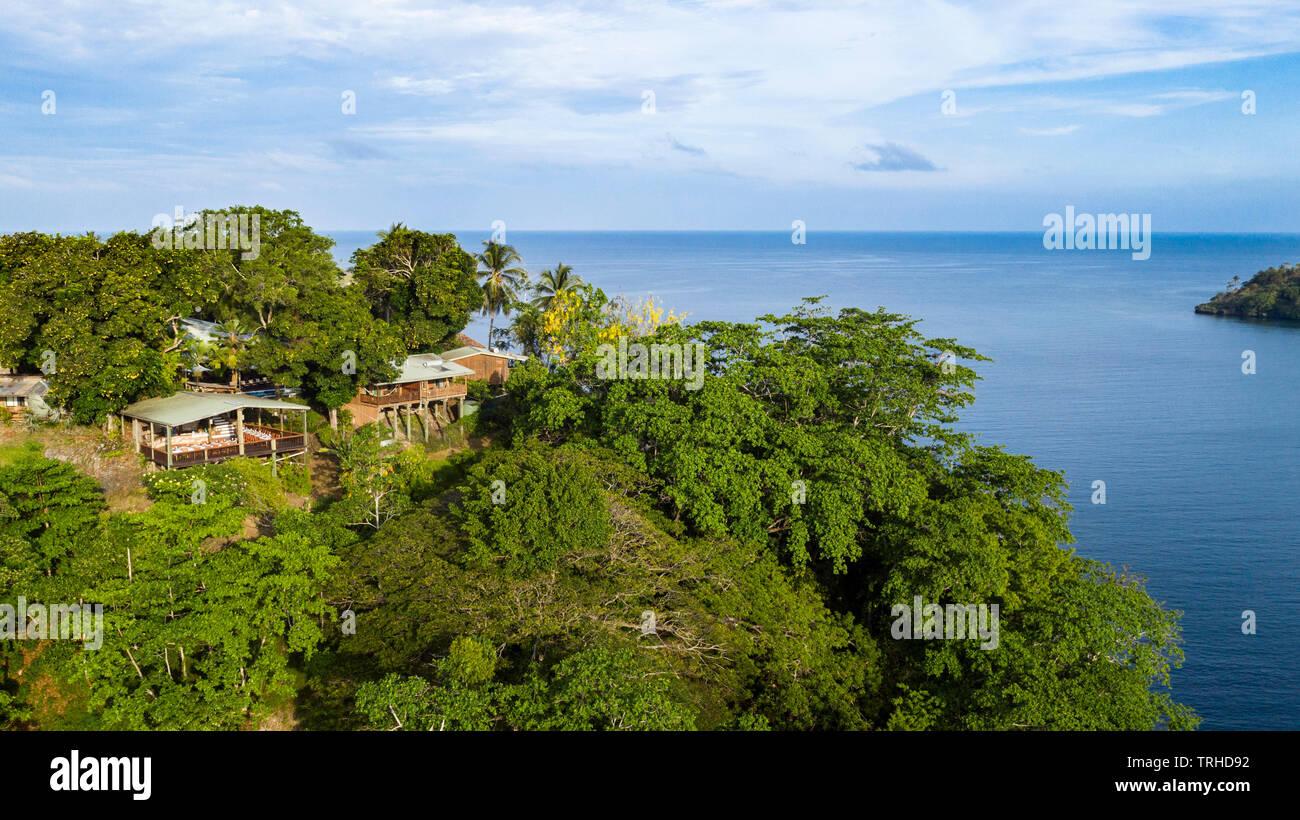 Tufi Dive Resort, tufi, Cape Nelson, Papua Nuova Guinea Immagini Stock