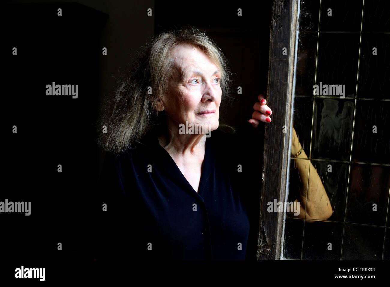 Ritratto di Annie Ernaux (nato Annie Duchesne) 06/06/2019 ©Basso CANNARSA/Opale Foto Stock