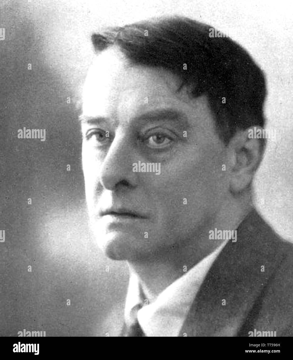 LORD ALFRED DOUGLAS (1870-1945) autore inglese, poeta e commentatore politico e amante di Oscar Wilde Immagini Stock