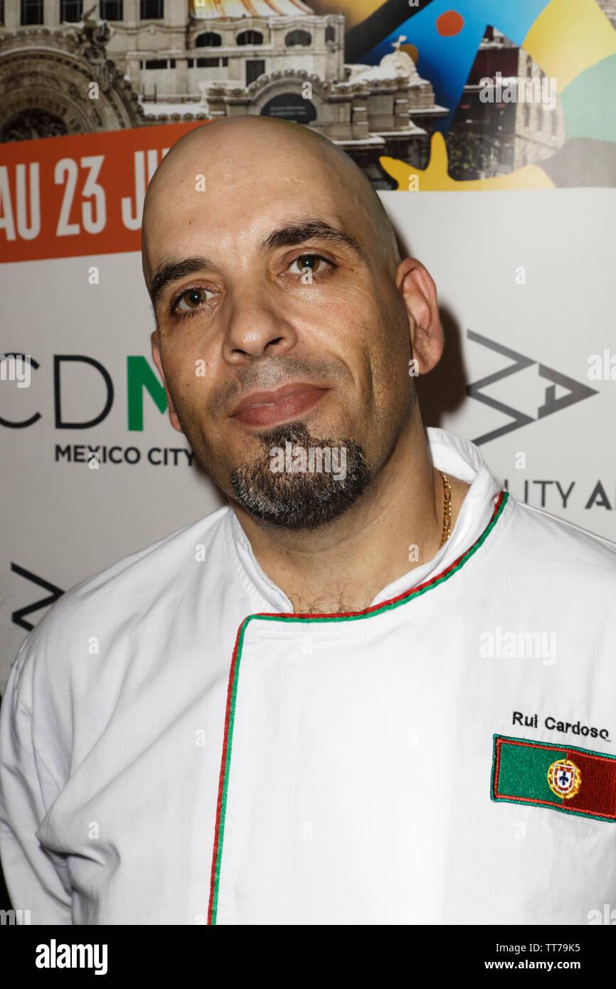 Parigi, Francia. 14 Giugno, 2019. Lo Chef Rul Cardoso assiste il Que Gusto Festival il 14 giugno 2019 a Parigi, Francia. Immagini Stock