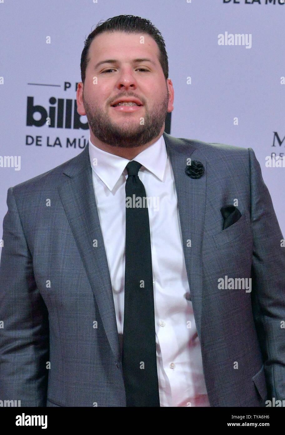 El Fantasma assiste la XXVI edizione Billboard Latin Music Awards al Mandalay Bay Events Centre di Las Vegas, Nevada, il 25 aprile 2019. Foto di Jim Ruymen/UPI Immagini Stock