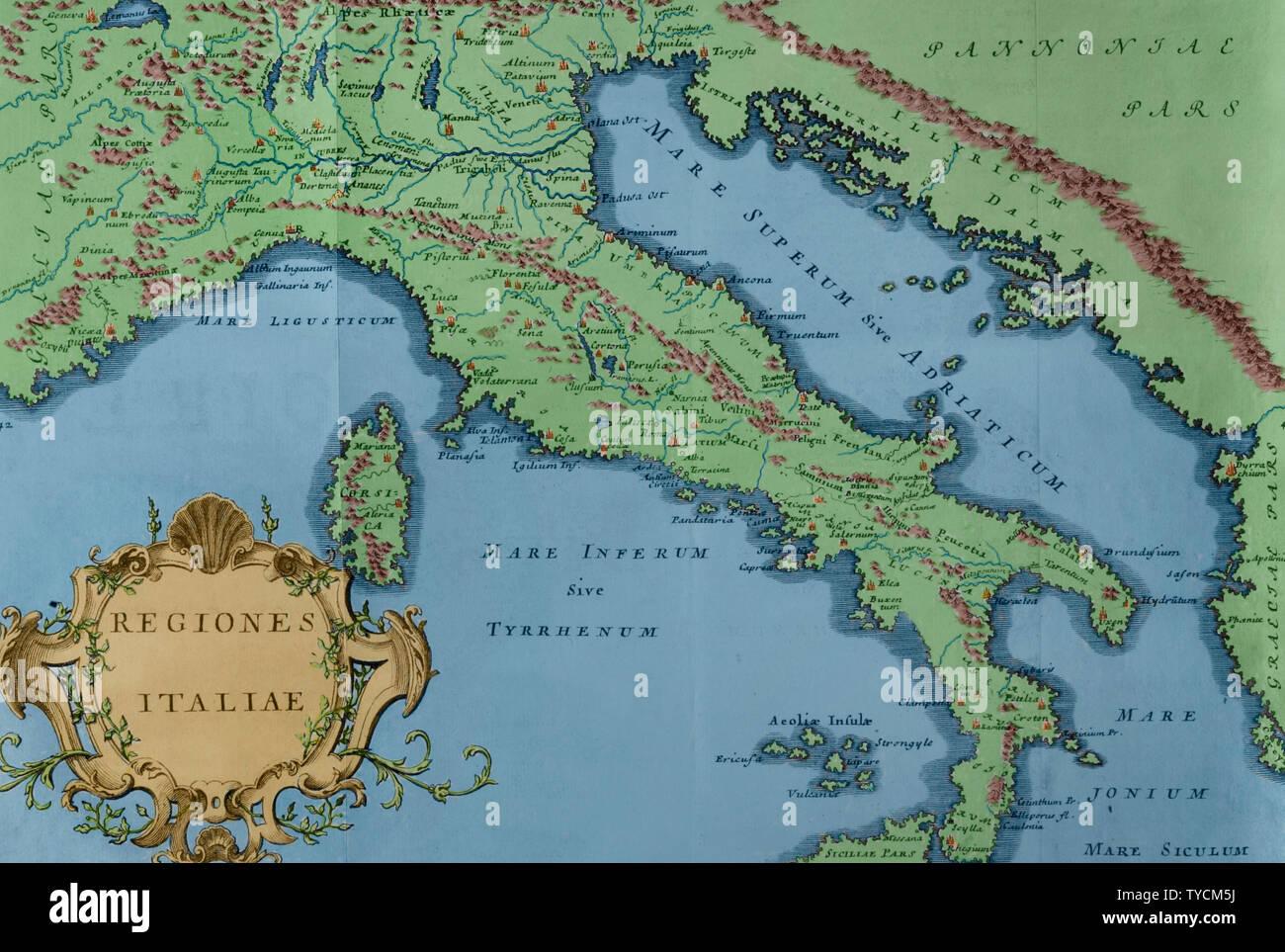 Cartina D Italia 1915.Mappa Dell Adriatico Immagini E Fotos Stock Alamy