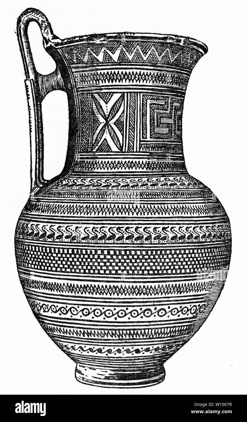 Decorazioni Dei Vasi Greci.Geometrico Greco Immagini Geometrico Greco Fotos Stock Alamy