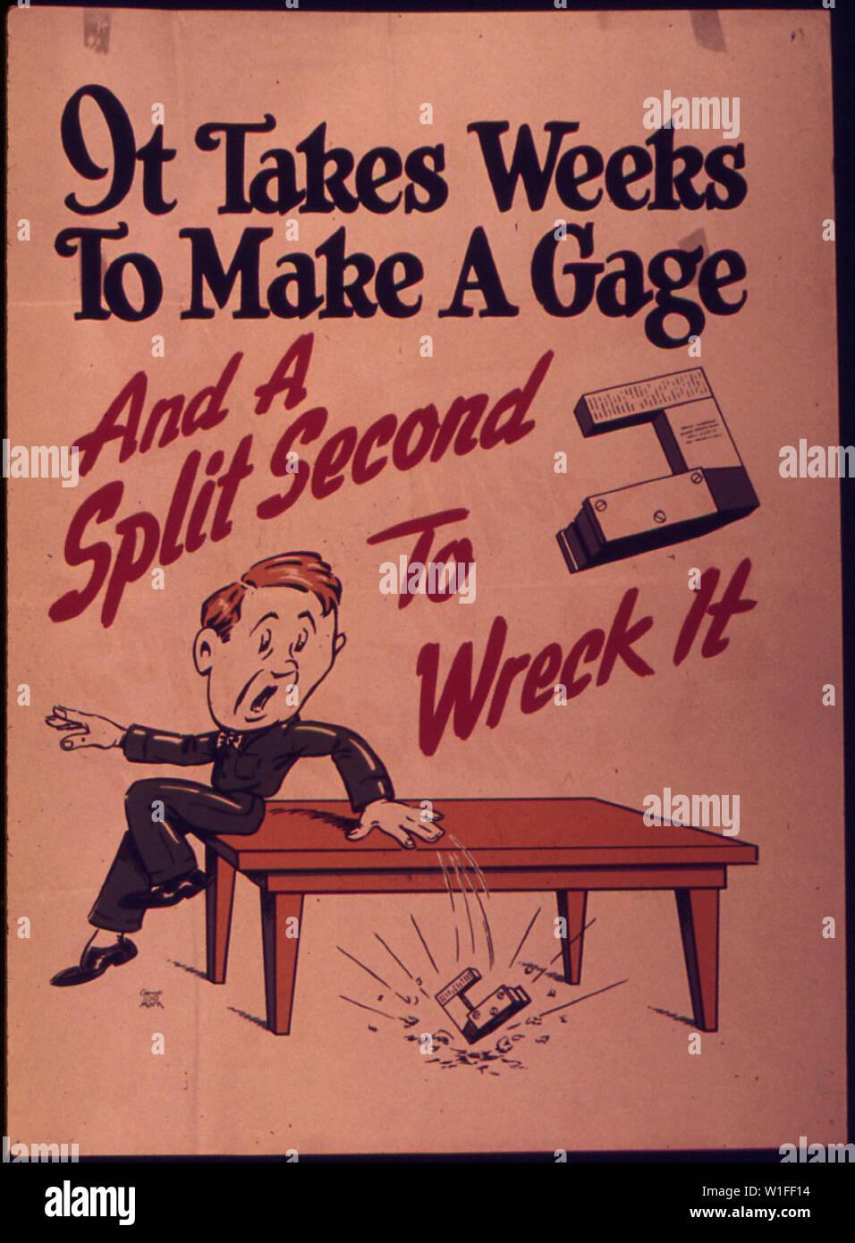Si impiegano settimane per realizzare un Gage-And una frazione di secondo al relitto si Immagini Stock