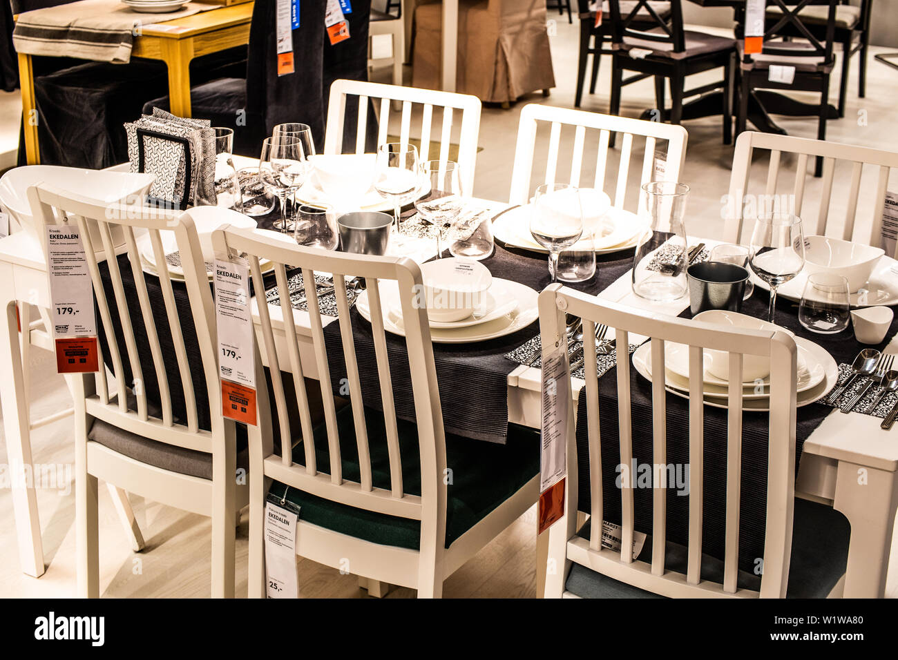 Sale Da Pranzo Moderne Ikea.Ikea Chairs Immagini Ikea Chairs Fotos Stock Alamy